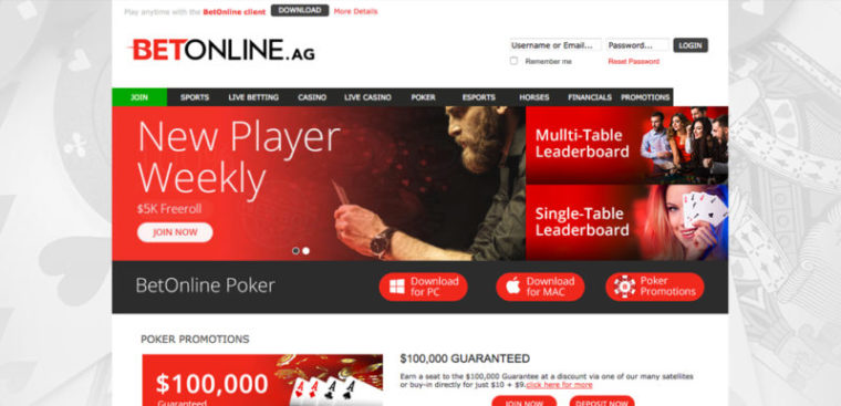 Betonline Poker Review